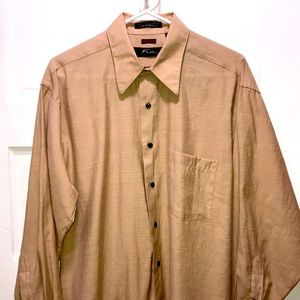 FUBU The Collection long sleeve shirt SIZE 15 1/2